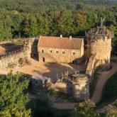 Le château fort de Guédelon
