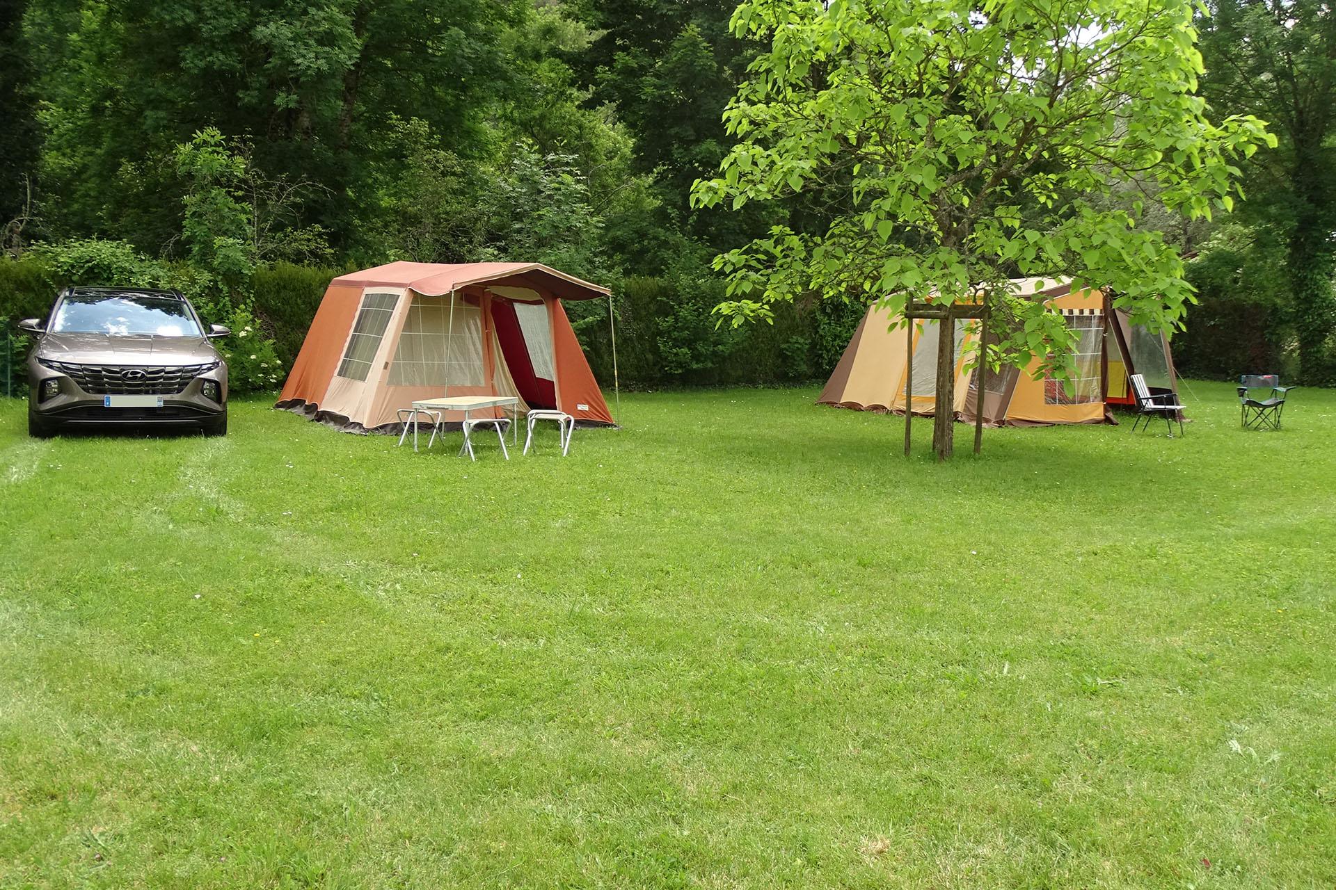 place de camping en Bourgogne 89