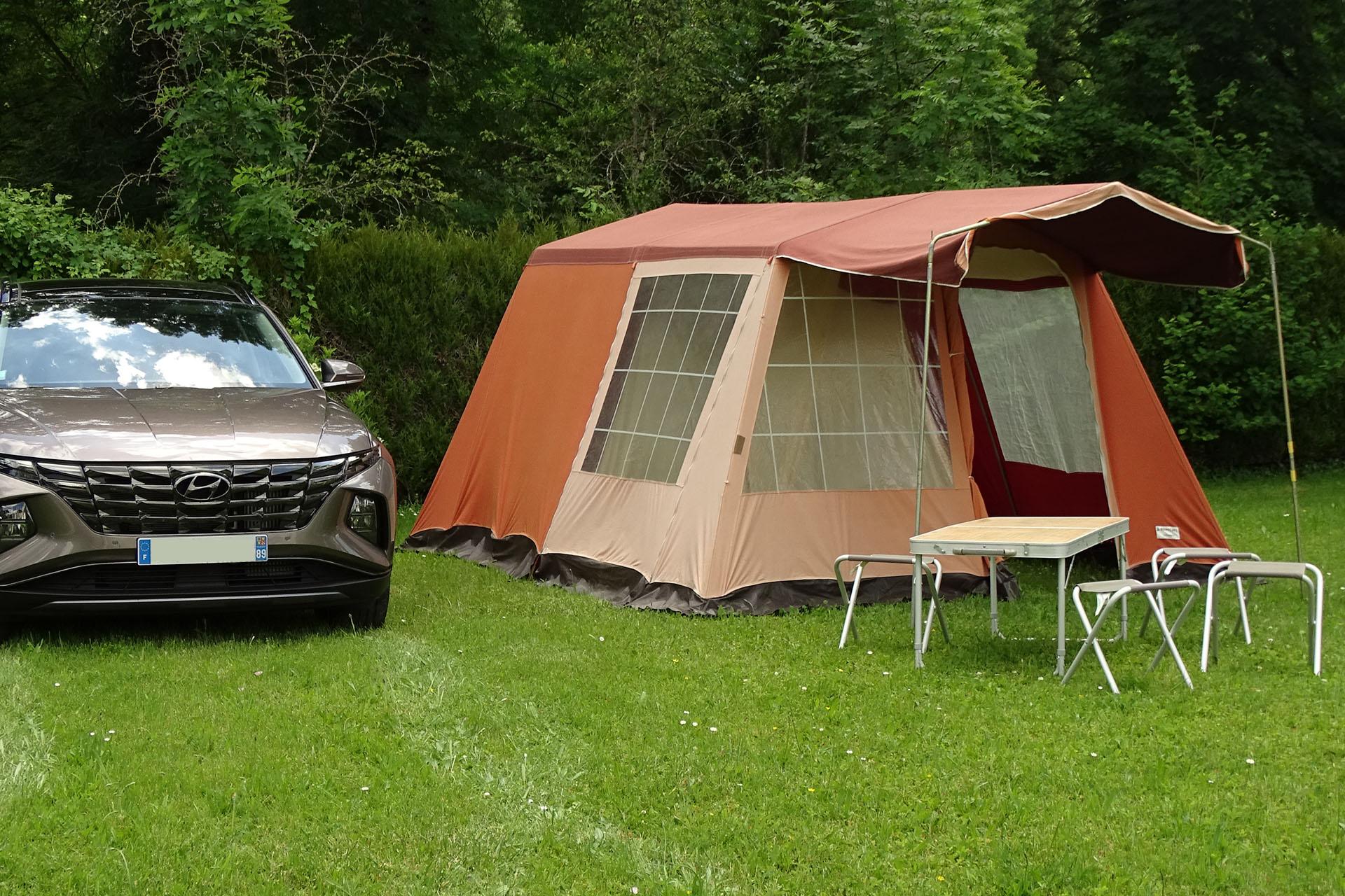 camping agréable et proche de la nature