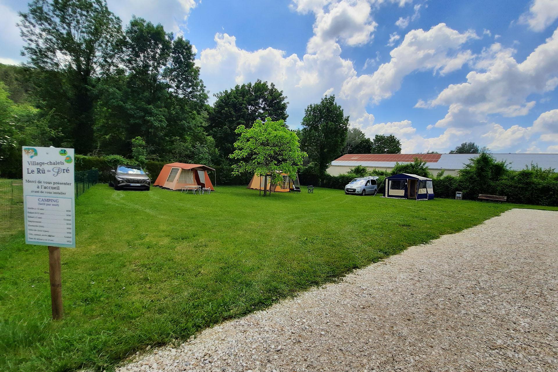 camping pas cher dans l'Yonne