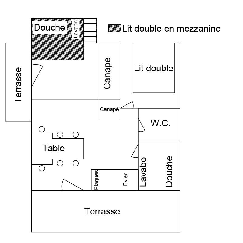 location chalet 5 à 7 personnes dans l'Yonne